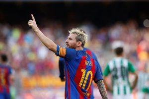 Lionel Messi Dapatkan Gelar Topskorer La Liga