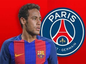 Neymar hengkang ke PSG