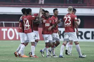 Bali United Dapatkan Kemenangan Pertama di Piala AFC 2018